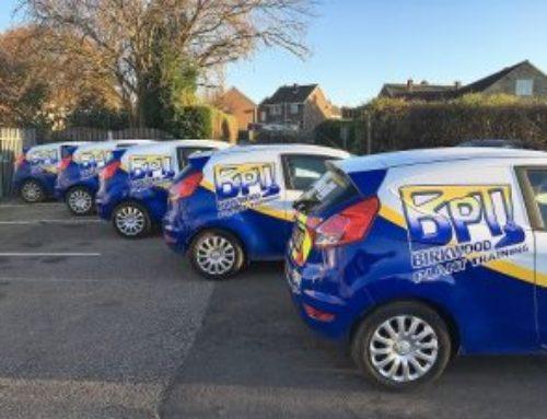Birkwood's New Vans